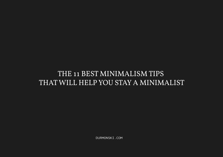 Best-Minimalism-Tips