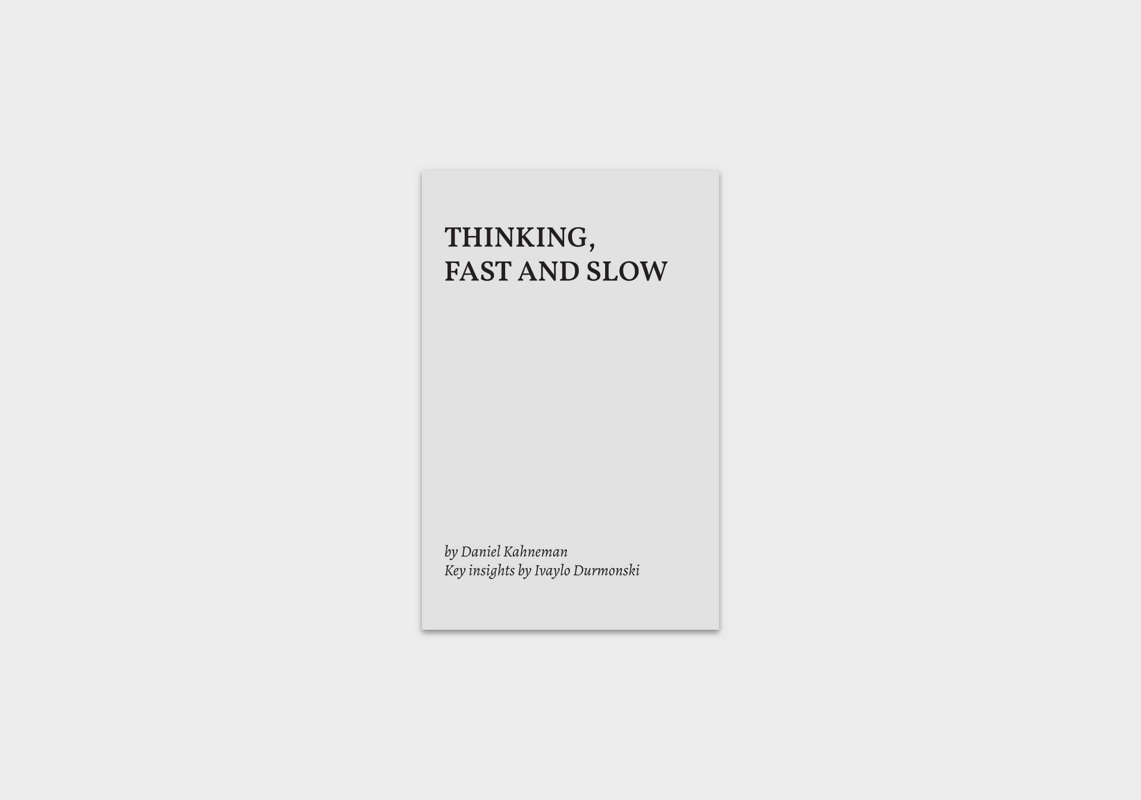 thinking-fast-and-slow-book-summary