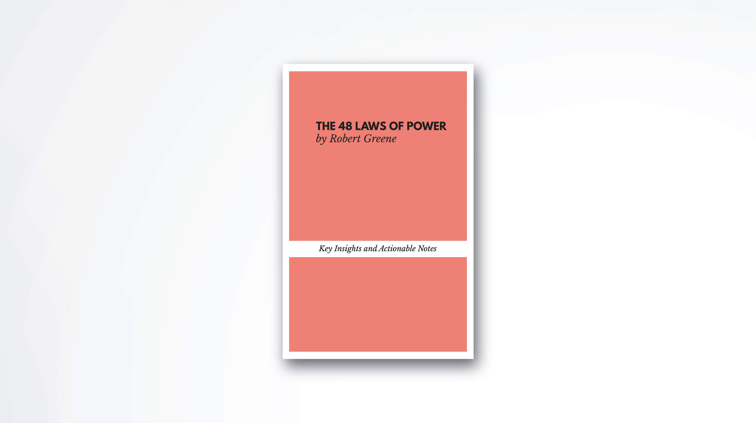 The 48 Laws of Power book summary