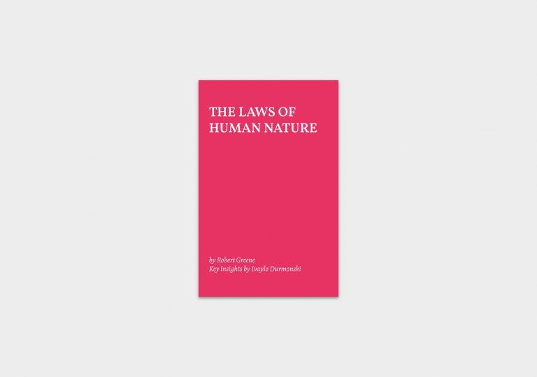 actionable-summary-the-laws-of-human-nature