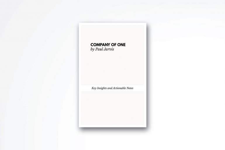 Company-of-one-book-summary
