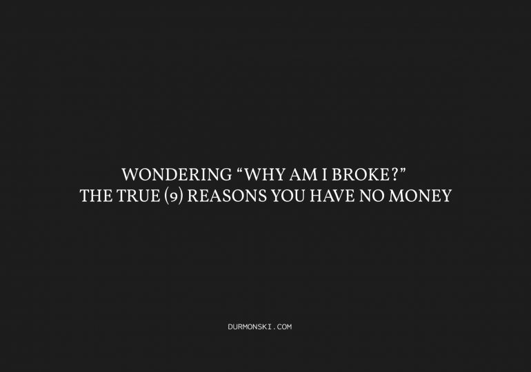 Why-You-Have-No-Money