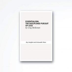 Essentialism-book-summary