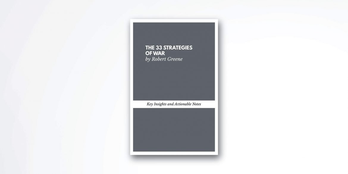 The-33-Strategies-of-war-book-summary