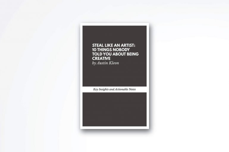 steal-like-an-artist-book-summary