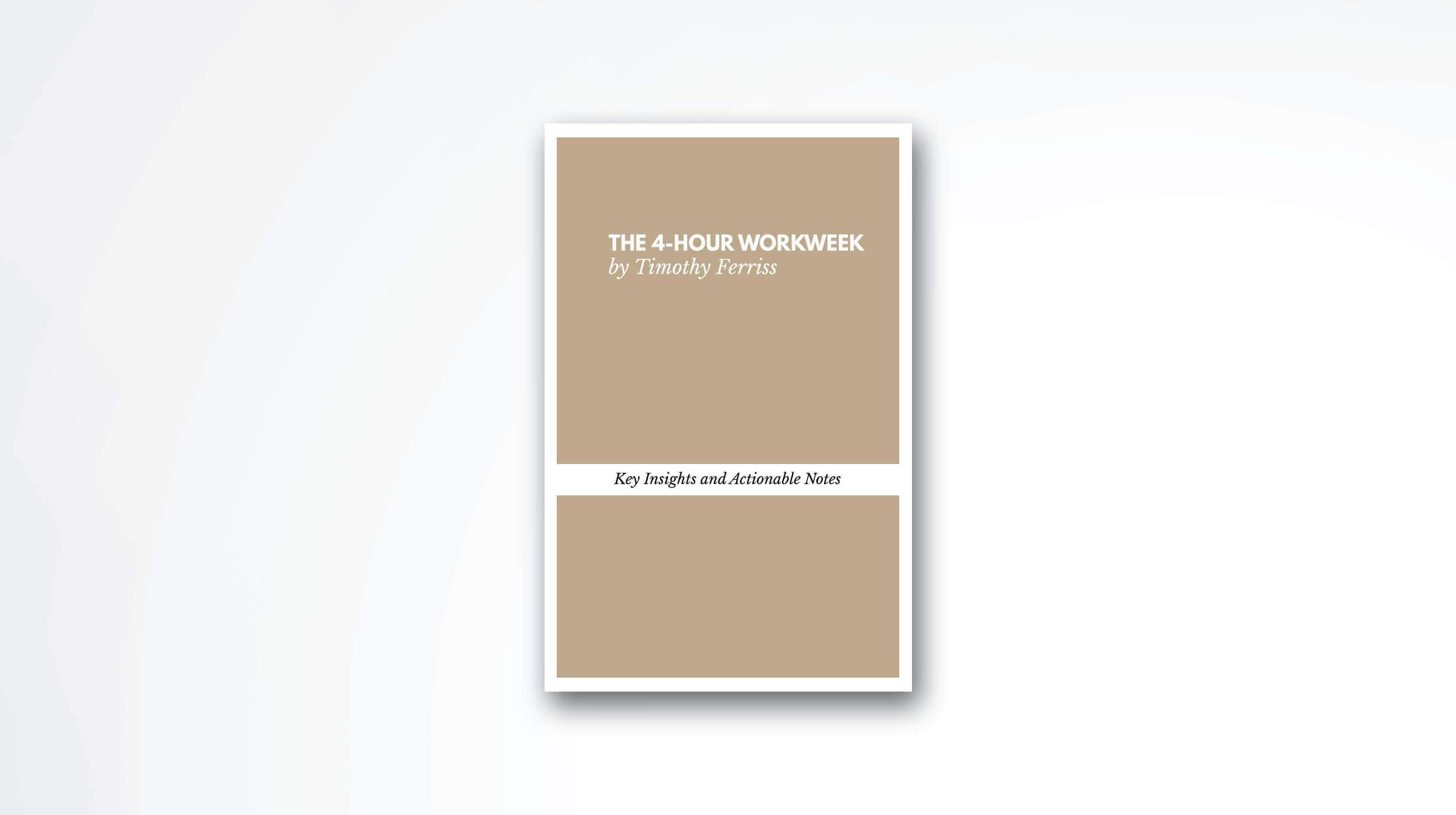 the-4-hour-workweek-book-summary