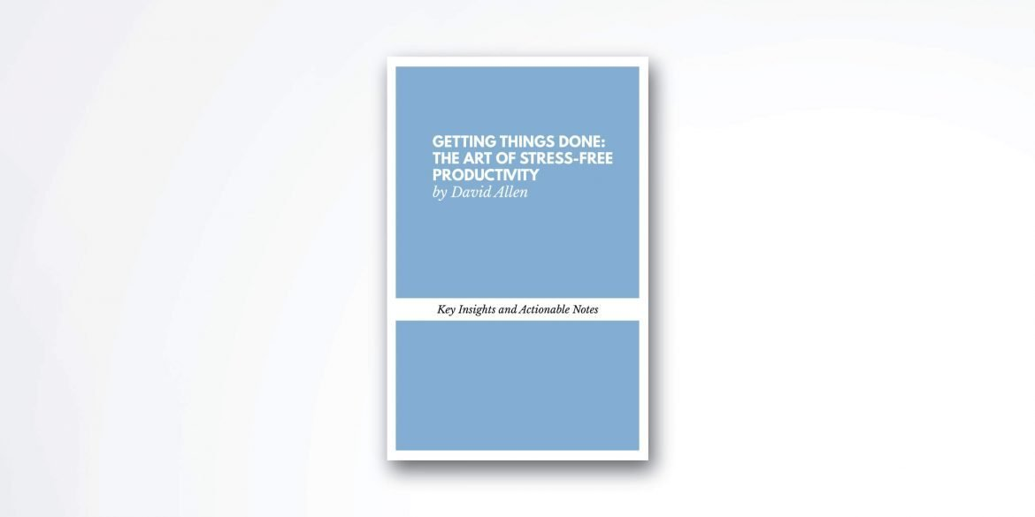 getting-things-done-book-summary