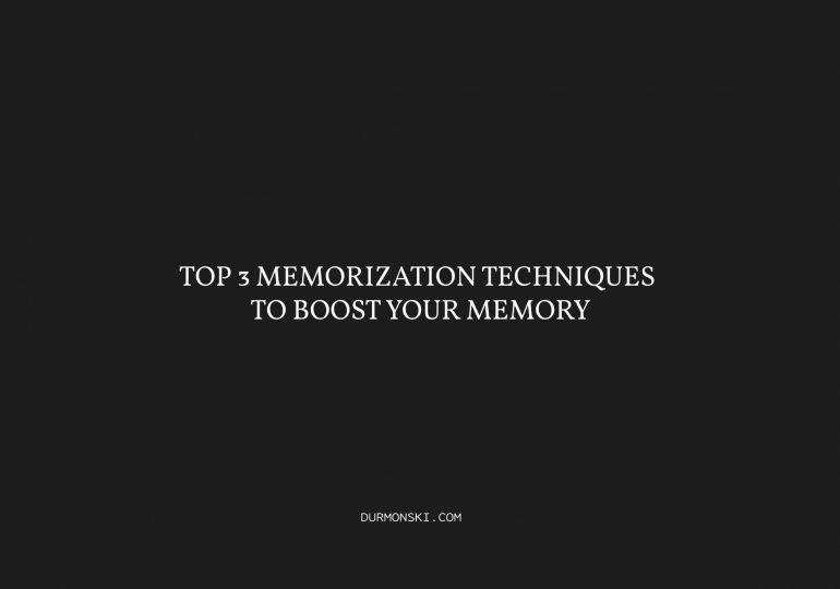 Top-3-Memorization-Techniques