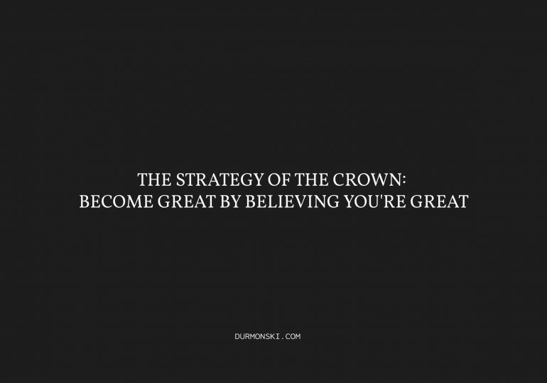 The Strategy of the Crown Cover