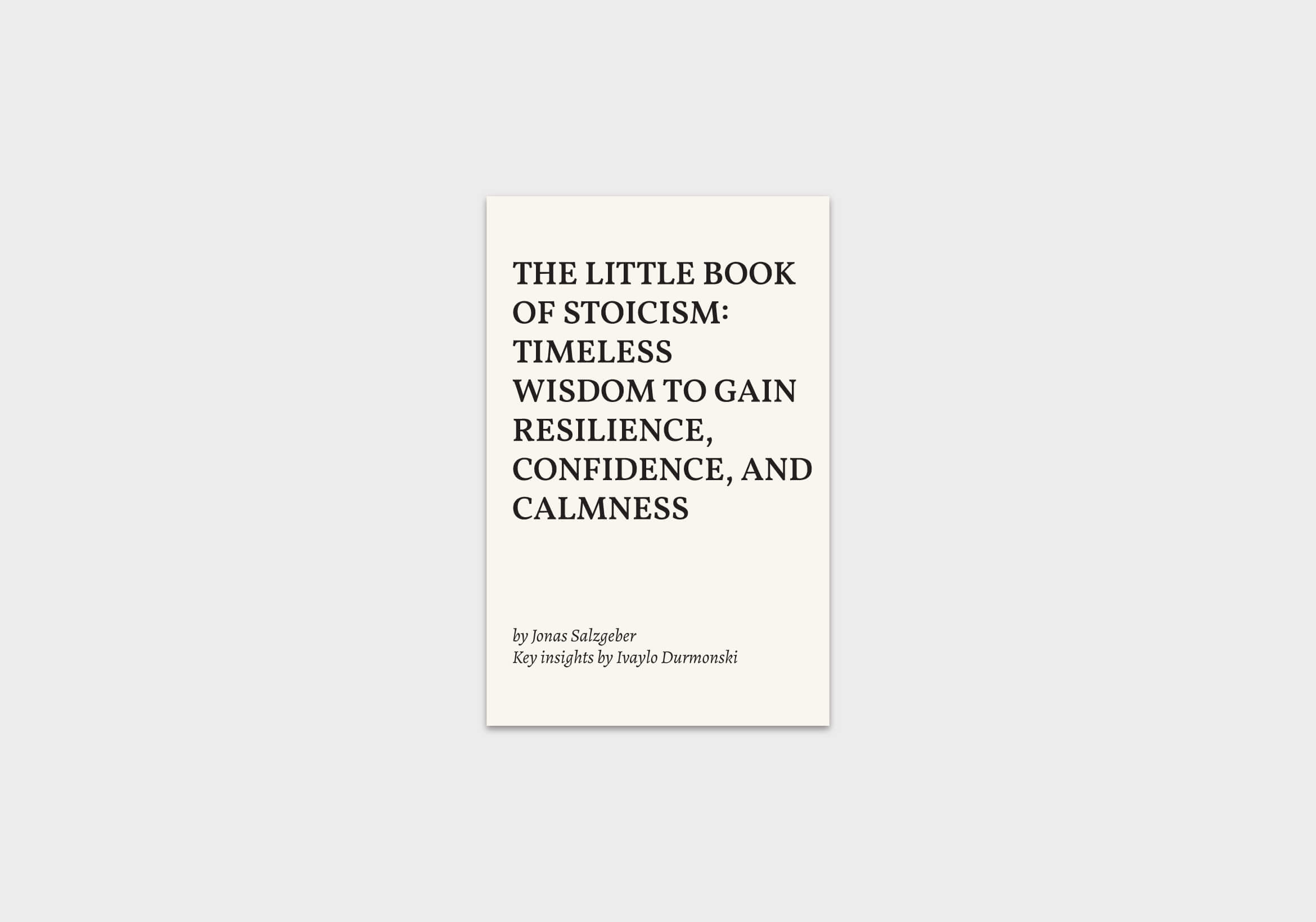 The-Little-Book-of-Stoicism-summary