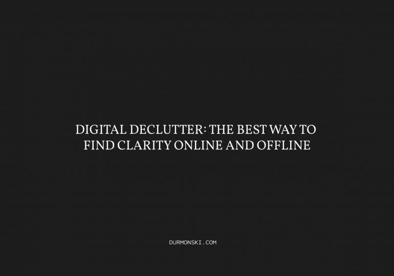 Digital-Declutter
