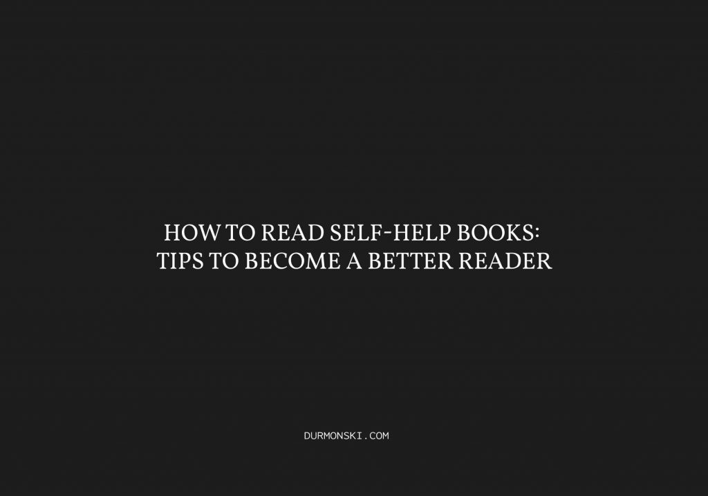 How-to-Read-Self-Help-Books