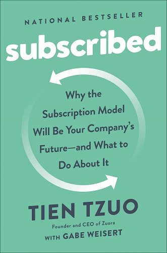 Subscribed by Tien Tzuo book cover
