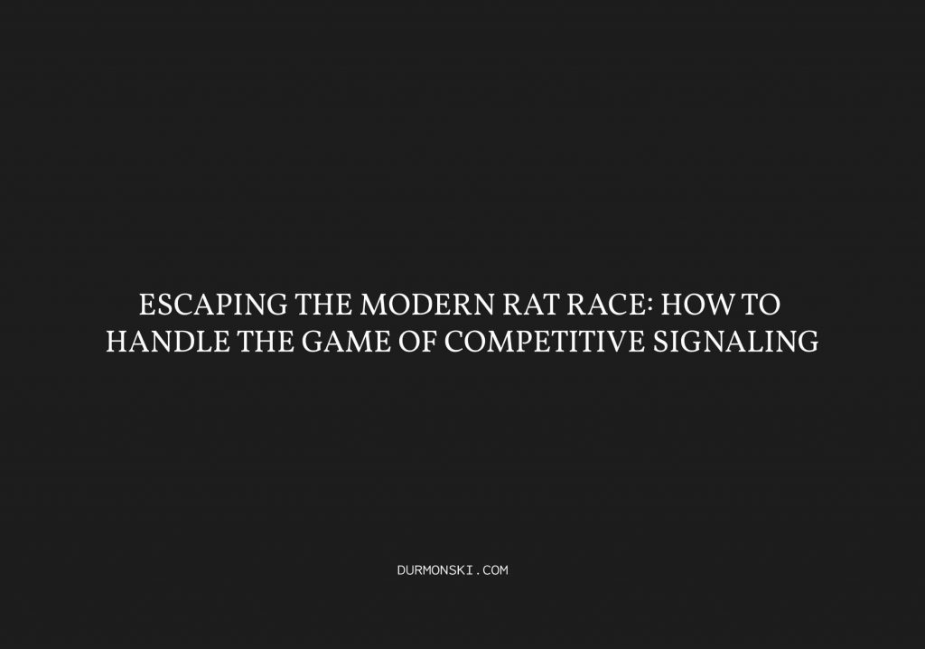 Escaping-the-Modern-Rat-Race
