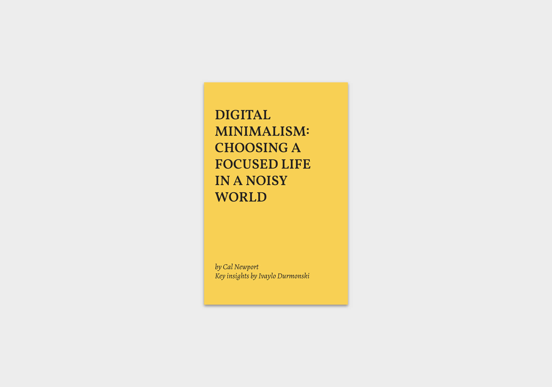 Digital-Minimalism-book-summary