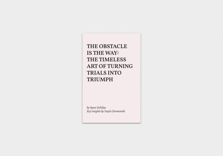 The-Obstacle-Is-the-Way-summary