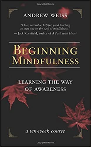 Beginning Mindfulness by Andrew Weiss book cover