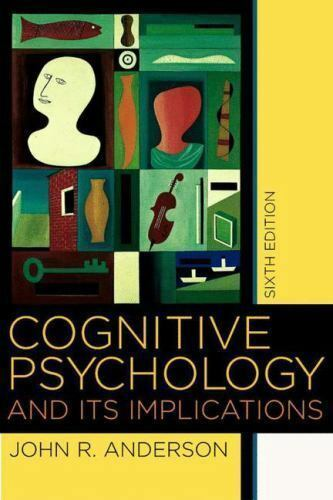 Cognitive Psychology by John Anderson book cover photo