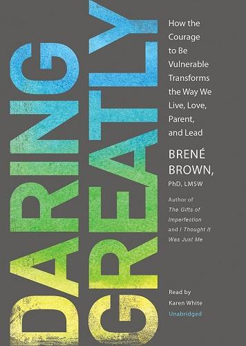 Daring Greatly Brené Brown cover