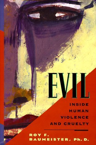Evil by Roy Baumeister book cover