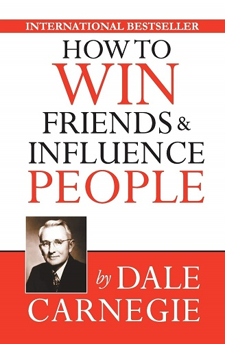 How to Win Friends and Influence People by Dale Carnegie book cover photo