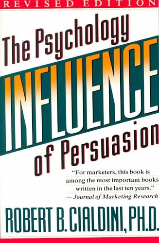 Influence Science and Practice by Robert B. Cialdini book cover