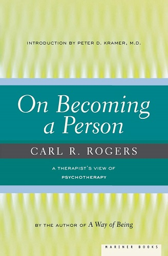 On Becoming a Person A Therapist's View of Psychotherapy by Carl Rogers cover