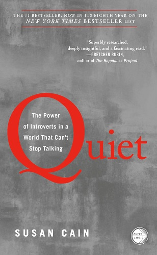 Quiet The Power of Introverts in a World That Can't Stop Talking by Susan Cain cover