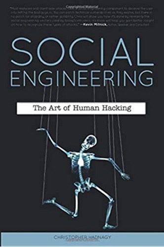 Social Engineering by Christopher Hadnagy book cover