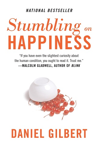 Stumbling on Happiness by Daniel Todd book cover photo