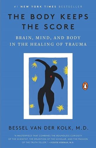 The Body Keeps the Score by Bessel van der Kolk book cover