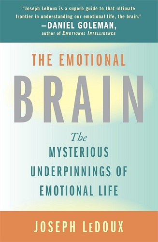 The Emotional Brain by Joseph LeDoux book cover photo