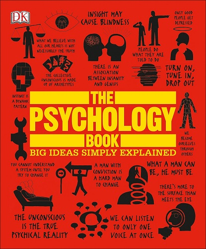 The Psychology Book Big Ideas Simply Explained book cover photo