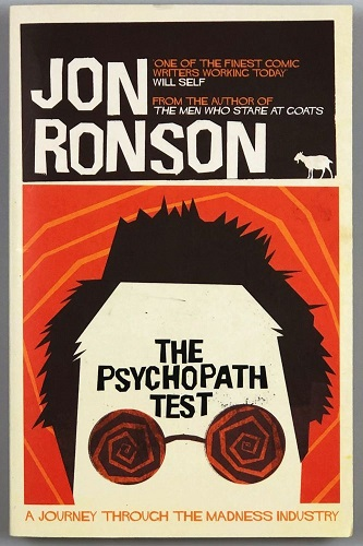 The Psychopath Test book cover photo