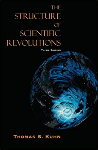 The Structure of Scientific Revolutions by Thomas Kuhn book cover photo