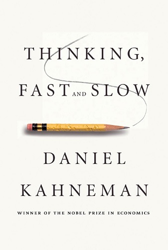 Thinking, Fast and Slow by Daniel Kahneman book cove