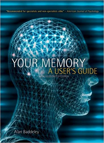 Your Memory A Users Guide by Alan Baddeley book cover photo