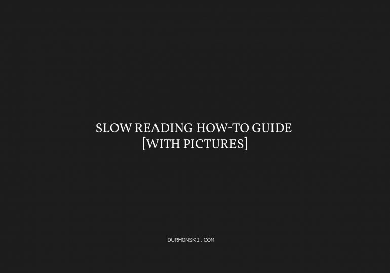 slow-reading-how-to-guide cover photo